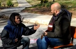 homeless_man_joins_carlos_whittaker