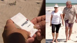 MH370_Malaysia_Airlines_Towelette_Found
